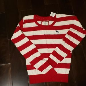 Abercrombie and Fitch stripe sweater